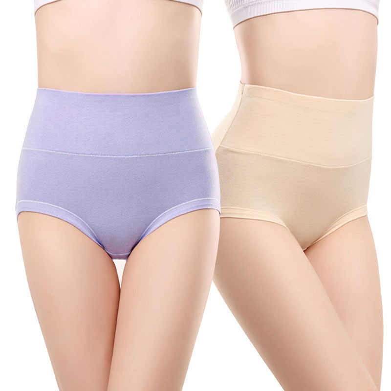 5ee52f83e9d Detail Feedback Questions about 2Pcs lot Autimn Winter style New Thick High  Waist Cotton Panites Women Underwears Plus Size 6XL Big size Lady Briefs ...