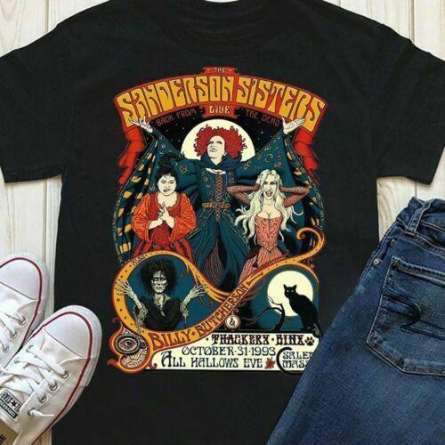 Hocus Pocus The Sanderson Sisters Black Tshirt M 3Xl