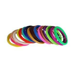 Image 5 - New Free Shipping 20Pieces/lot 3D Printer Filament 5M/pcs 20 Colors 1.75mm PLA 3D Print Filament For 3D Printer Or 3D Pen