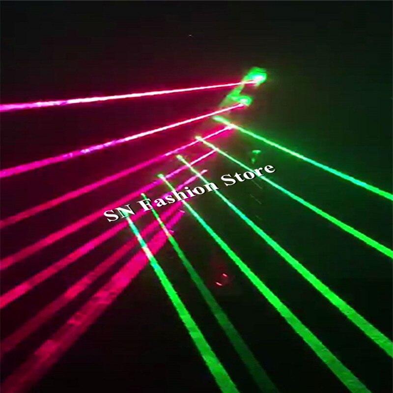 BC31 danseur De Salon laser costume vert lumière rouge laser projecteur laser man show robot étape porte main laser épée club dj bar