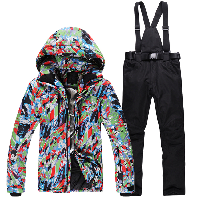 Man/Woman Snowboarding Clothes Winter Snow Suit Outdoor Sports