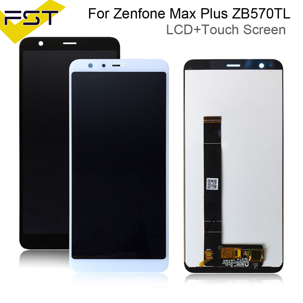 Black/White For Asus Zenfone Max Plus M1 LCD Display Touch Screen Digitizer X018D X018DC Replacement For ASUS ZB570TL LCDBlack/White For Asus Zenfone Max Plus M1 LCD Display Touch Screen Digitizer X018D X018DC Replacement For ASUS ZB570TL LCD