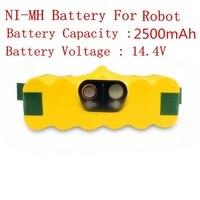 14 4V 2500mAh Ni MH Battery For IRobot Roomba 500 510 520 530 540 550 560