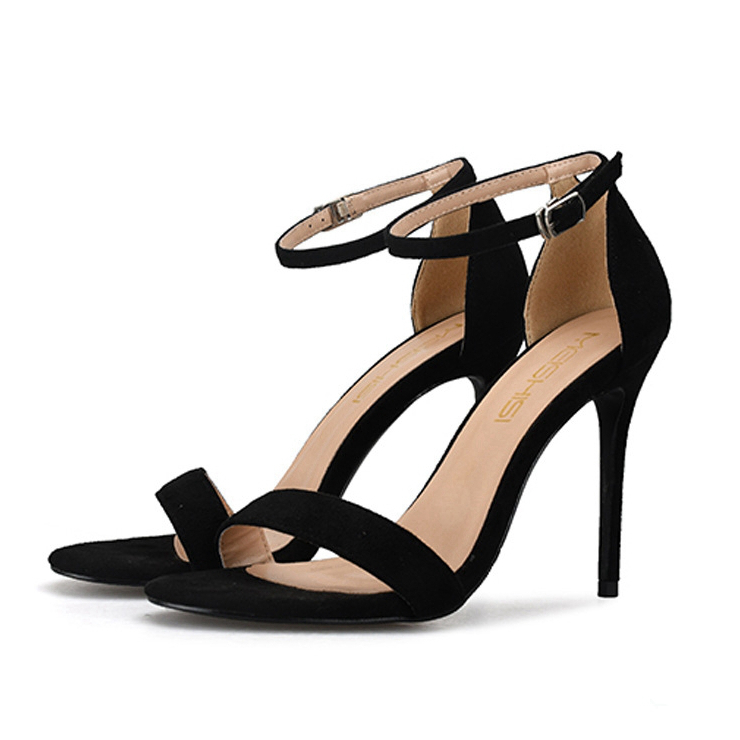 Women 39 s Sandals High Heels Shoes Summer Ankle Strap Gladiator Sandals Open Toe Sexy Party Shoes Red Wedding Shoes H0052 in High Heels from Shoes