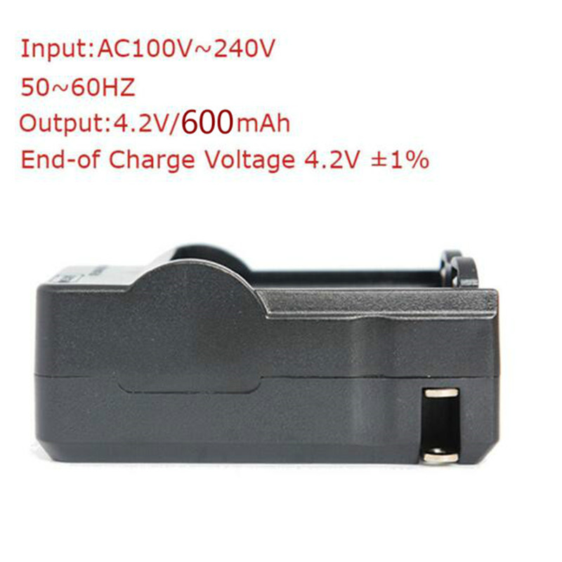 2 slots portable battery charger for 14500 battery Smart high quality 14500*2 battery charger (1pc)