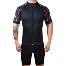 2019 Professional Mens Cycling Set Short Sleeve MTB Bicycle Clothes Wear Clothing Racing Bike Jersey