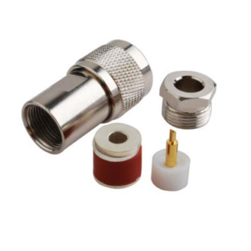 2 STÜCKE RF N Stecker Kabelklemme koaxial stecker für LMR195 RG58 ...