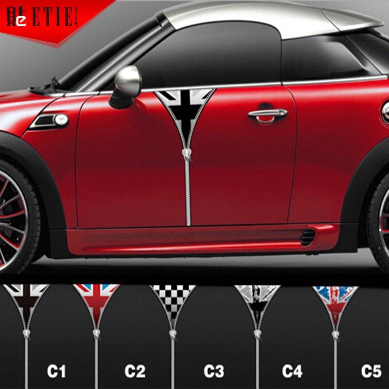 ETIE Mini Car Door Sticker Vinyl PVC Decals Body Sticker - Custom vinyl decals for car doors