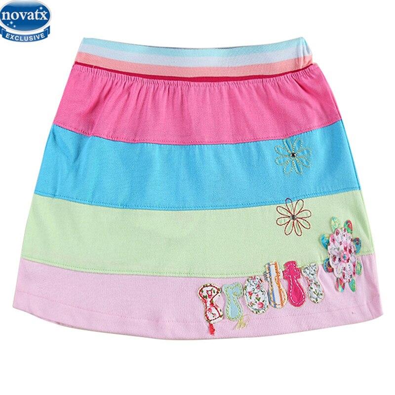 Novatx M3833 kids Mini skirts girls baby skirts children clothes wear fashiona designs child ...