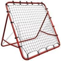VidaX Высококачественная стальная Регулируемая футбольная откатка Rebounder 100X100 см футбольная сетка