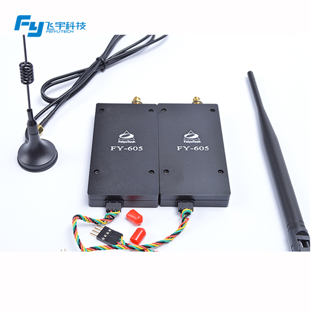 Feiyu Tech Data Link For Rc Airplanes Fpv Osd FY-605 Radio Link 433&915mhz 15 Km Distance