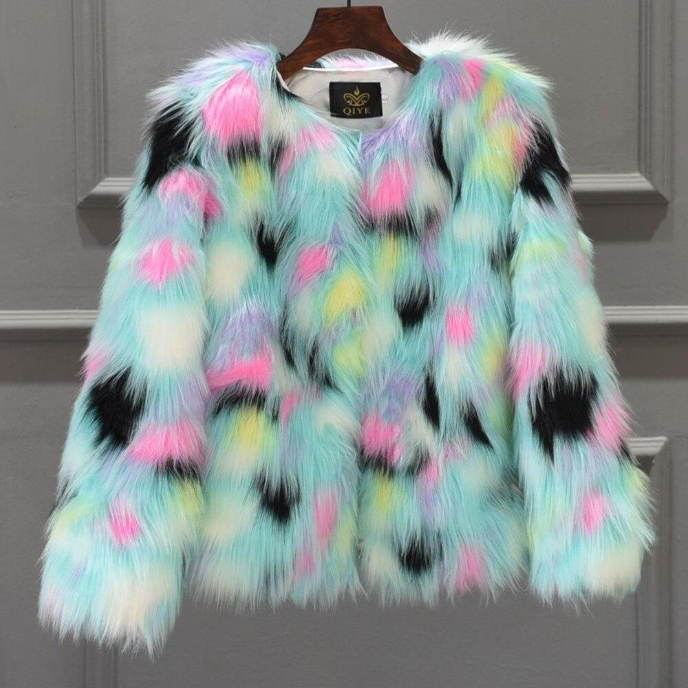 Giacca Pelliccia Abbigliamento Autunno Finta Caldo Sportiva Tuta Giacche  Delle Termico Cappotto Furry Per Faux Di Gtgyff Donne Della Inverno Del  Multicolore ... 160107be5d7a