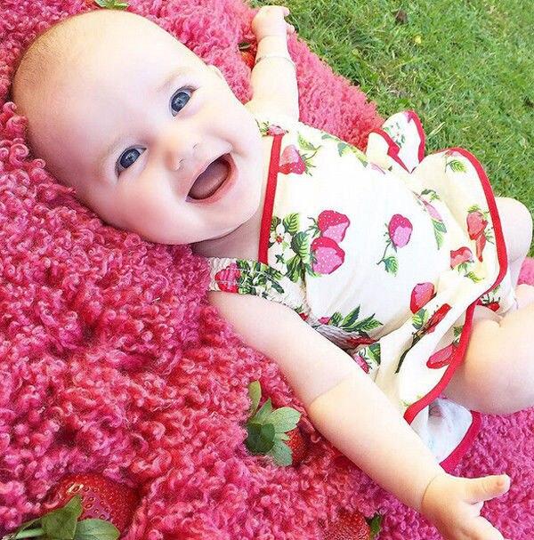 2769d3cf0 الوليد الرضع طفل رضيع فتاة جميلة زهرة طباعة رومبير اللباس Bodycon اللباس  الملابس توتو اللباس وتتسابق