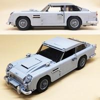 James Bond Espionage Car Agent Luxury Car Building Block 2600pcs Bricks Toys Compatible With Legoings Creative
