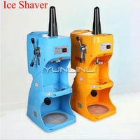 220V Ice Shaver Commercial Electric Ice Crusher For Milk Tea Shop Coffee Shop Equipment Easy Operating Ice Breaker LJIS 280