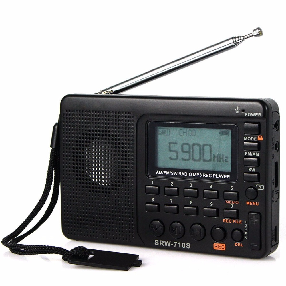 Fm Am Sw Radio Multiband Radio Receiver Bass Sound Mp3