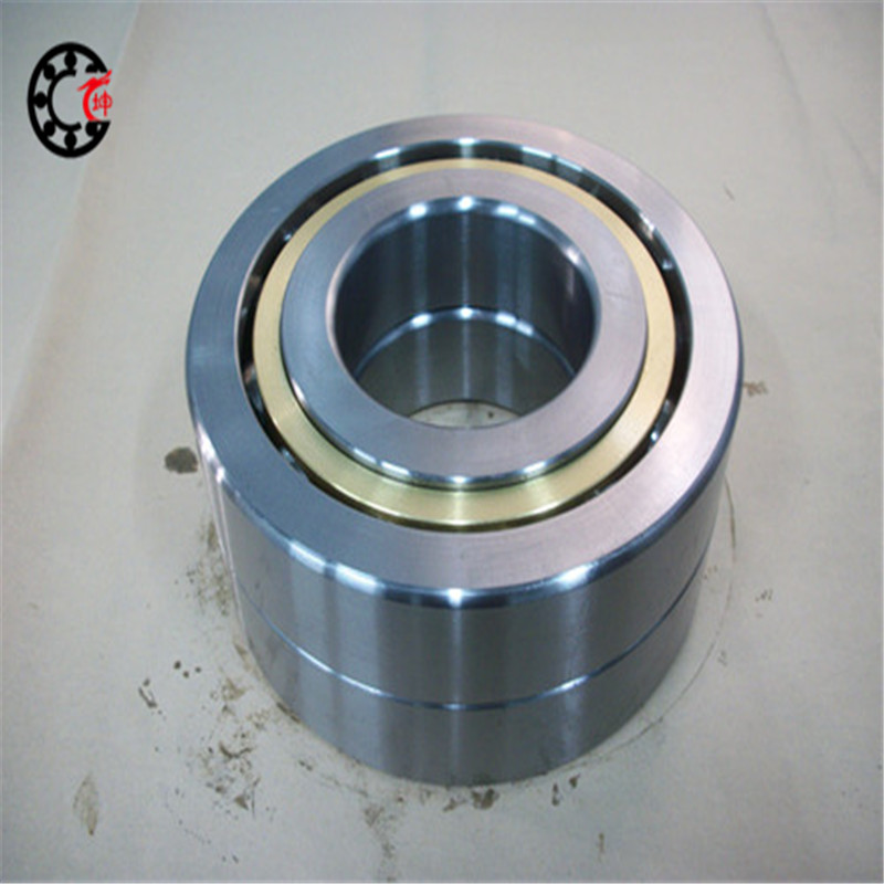 90mm diameter Four-point contact ball bearings QJ 318 M/P6C3S1 90mmX190mmX43mm Brass cage ABEC-3 Machine tool