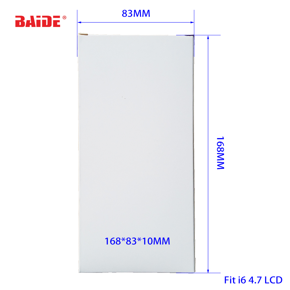 156/168/195 Wihte Paper Box For I4/4S/I5/5S/6/6P LCD Screen Packing Package Wholesale 500pcs/lot