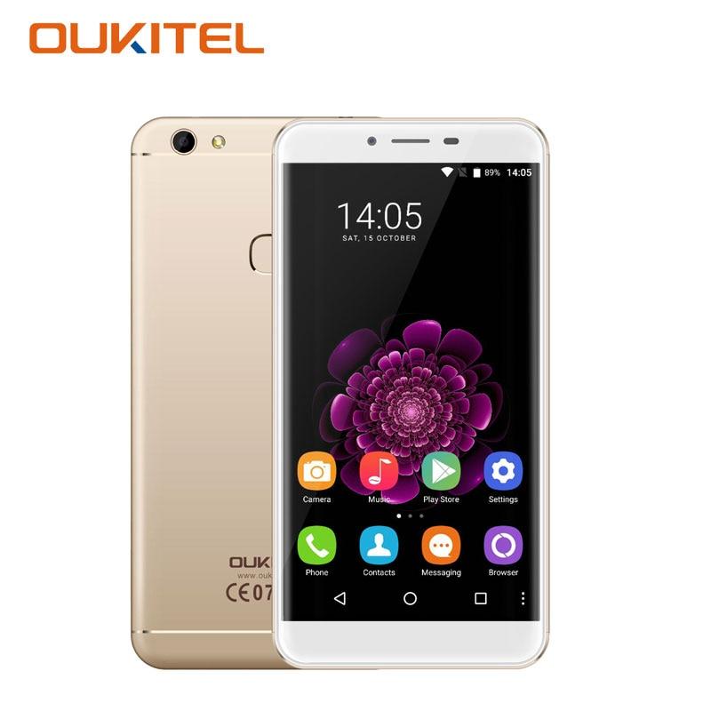 Oukitel u15s smartphone 5.5 pulgadas octa core android 6.0 4 gb ram + 32 gb rom