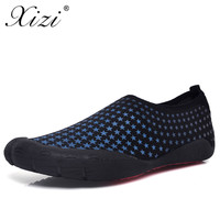 XIZI 2018 Summer Men Sandals Slipony Water Shoes Quality Large Size Sandalias Male Waterpark Sandals Aqua Slippers for Beach