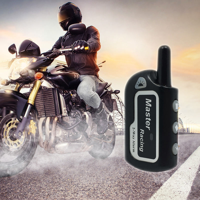 Two Way Alarm Motorcycle Scooter Anti-theft Alarms Remote Engine Start 2 Way Security Alarm Motor Theft Protection For Motorbike
