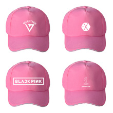1ca8da93de2 KPOP EXO BLACKPINK SEVENTEEN WANNA ONE Album Baseball Cap Hip-hop Cap Men  Women Hats