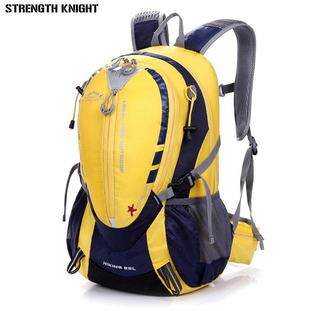 Bicycle Bags 25L Backpack Nylon Waterproof Rucksacks Pack Road Bag Knapsack Riding Backpack Ride Pack