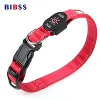 Night Flashing Pet LED Luminous Dog Collars USB Charging Red Greed Glowing Illuminated Pet Collar For