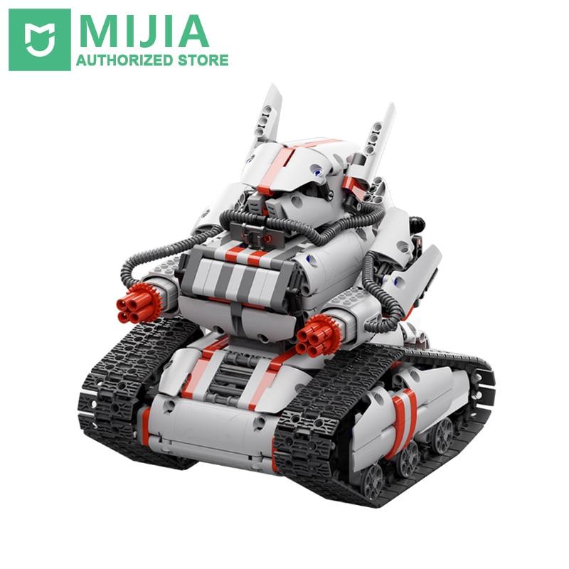 Original Xiaomi Mitu Robot Tank Mecha Crawler Base Mitu Building Block Robot Crawler Tank Version Controll