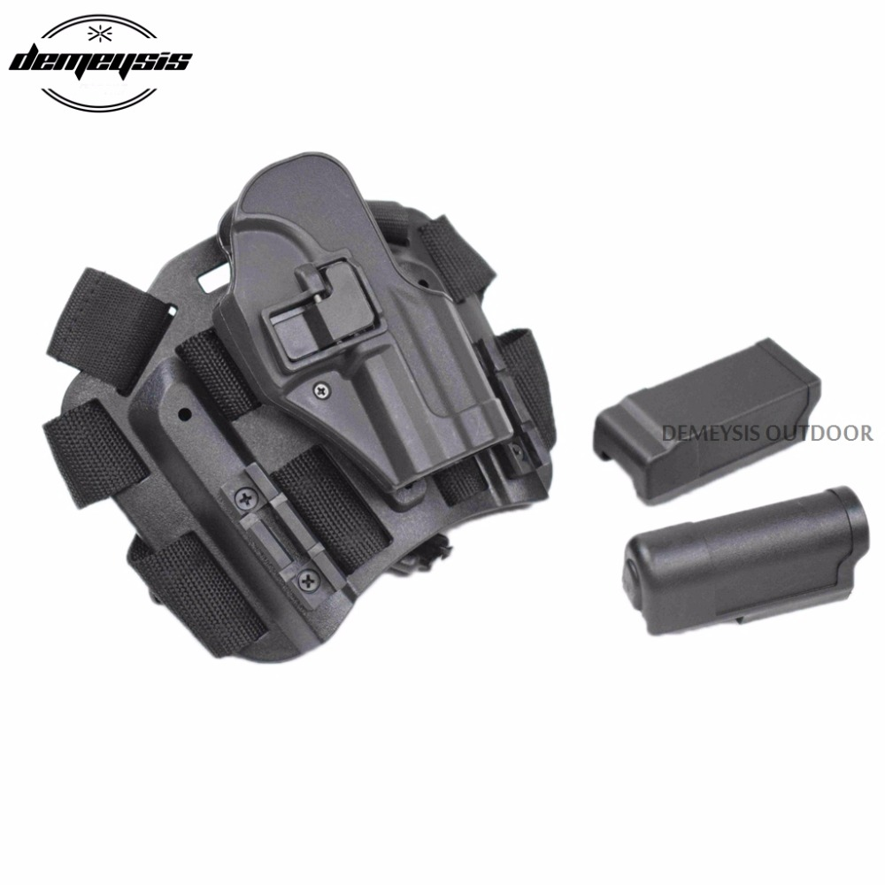 Tattica HK USP Compact Gamba Pistola Fondina Militare Airsoft Leg Holster Fonda Pistola Hk Usp Compact