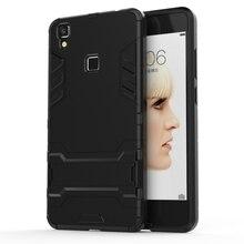 For BBK VIVO V3 Max 5.5″ Case Silicone Phone Case Shockproof Robot Armor