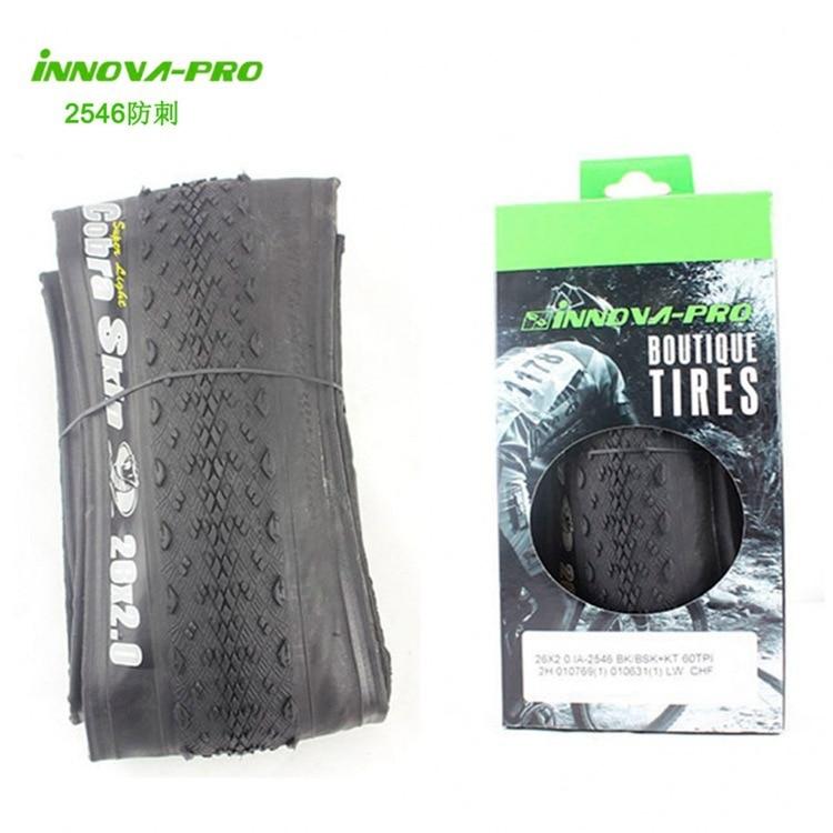 INNOVA 26 * 2.0 Stinging Tire 60TPI Bicycle Tire 2546 - Езда на велосипеде