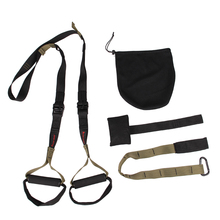The military version regulations Suspended fitness training  pull rope band TRXIP60