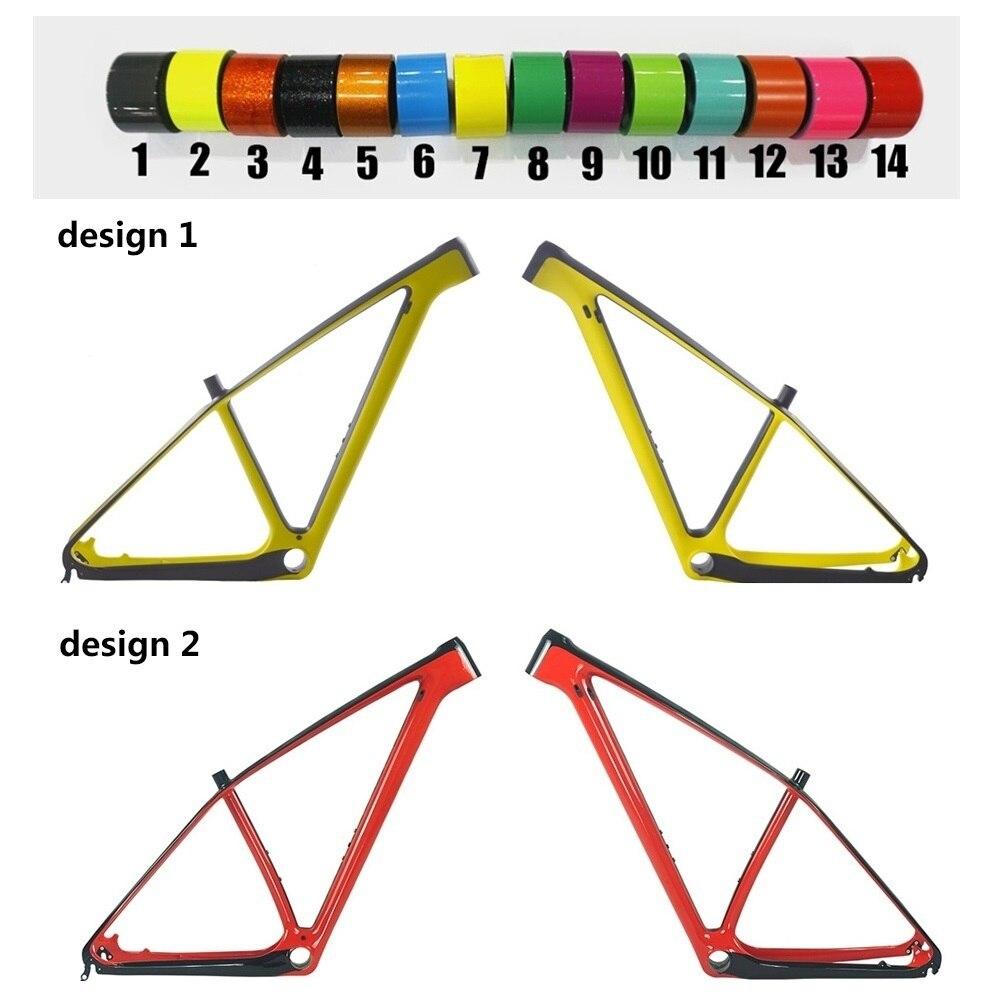 29er 27.5er Carbon MTB Bike Frame Size 15 17 19 21 Inch PF30 Bottom ...
