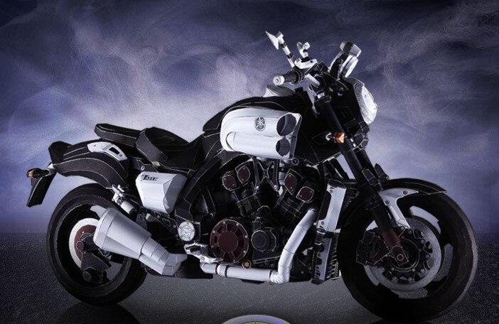 VMAX Ultra fin moto 3D papier modèle bricolage