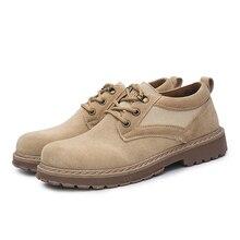 Для мужчин обувь % Замшевые мужские Сапоги и ботинки для девочек классический Мужская обувь на плоской подошве Martin ковбойские уличная Рабочая обувь резиновая Для мужчин теплые сапоги