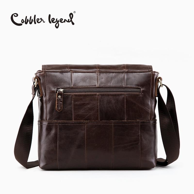 Cobbler Legend England Herren Schultertasche Leder Herren - Handtaschen - Foto 4