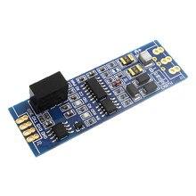 Adum3201 + b0505s ttl para rs485 módulo adum5401 rs485 para ttl com isolado microcontrolador uart módulo industrial de série