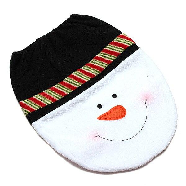 aliexpress : buy christmas bath mat 3pc/set snowman toilet