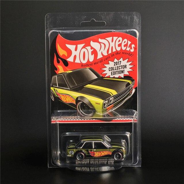 Лидер продаж, модель автомобиля DATSUN BLUEBIRD TOYOTA PICKUP 2017, Коллекционная серия, 50 я годовщина, металлические Литые модели автомобилей, детские игрушки, 1:64