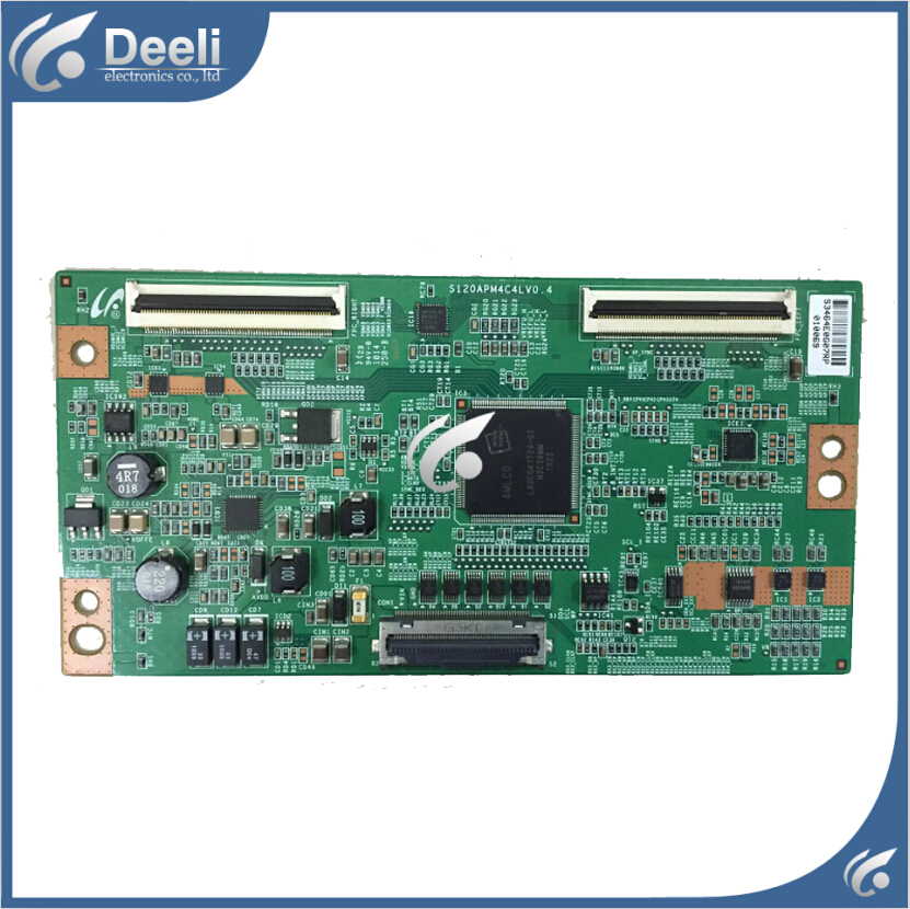 Working good 95% new original for Logic board S120APM4C4LV0.4 T-CON board  цена и фото