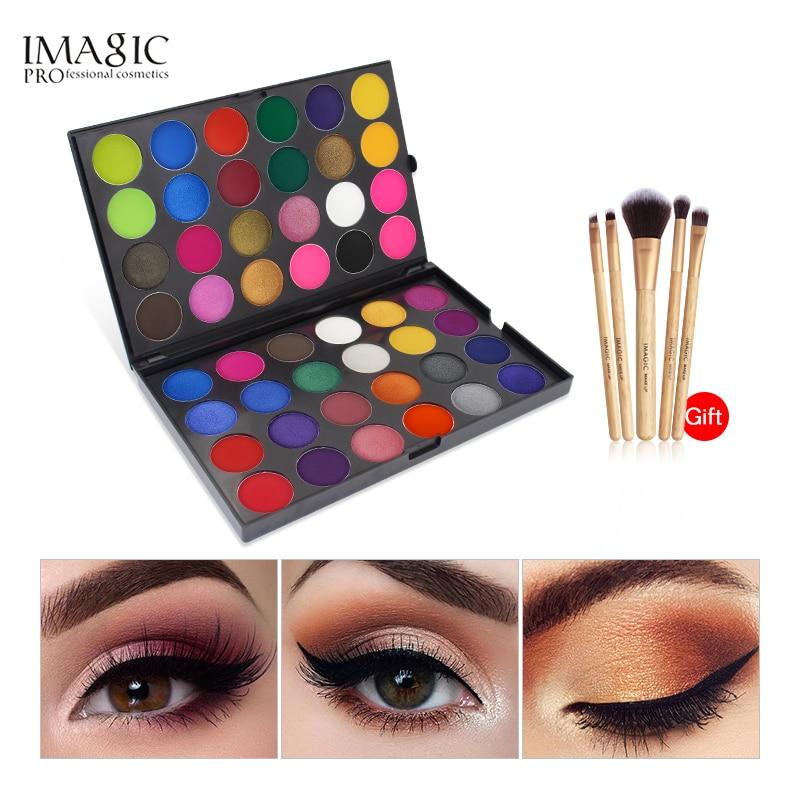 IMAGIC 48 Colors Matte Eyeshadow Palette Powder Professional Make up Eye Shadow Cosmetics Eyeshadow make up factory mat eye shadow 41 41 charming white