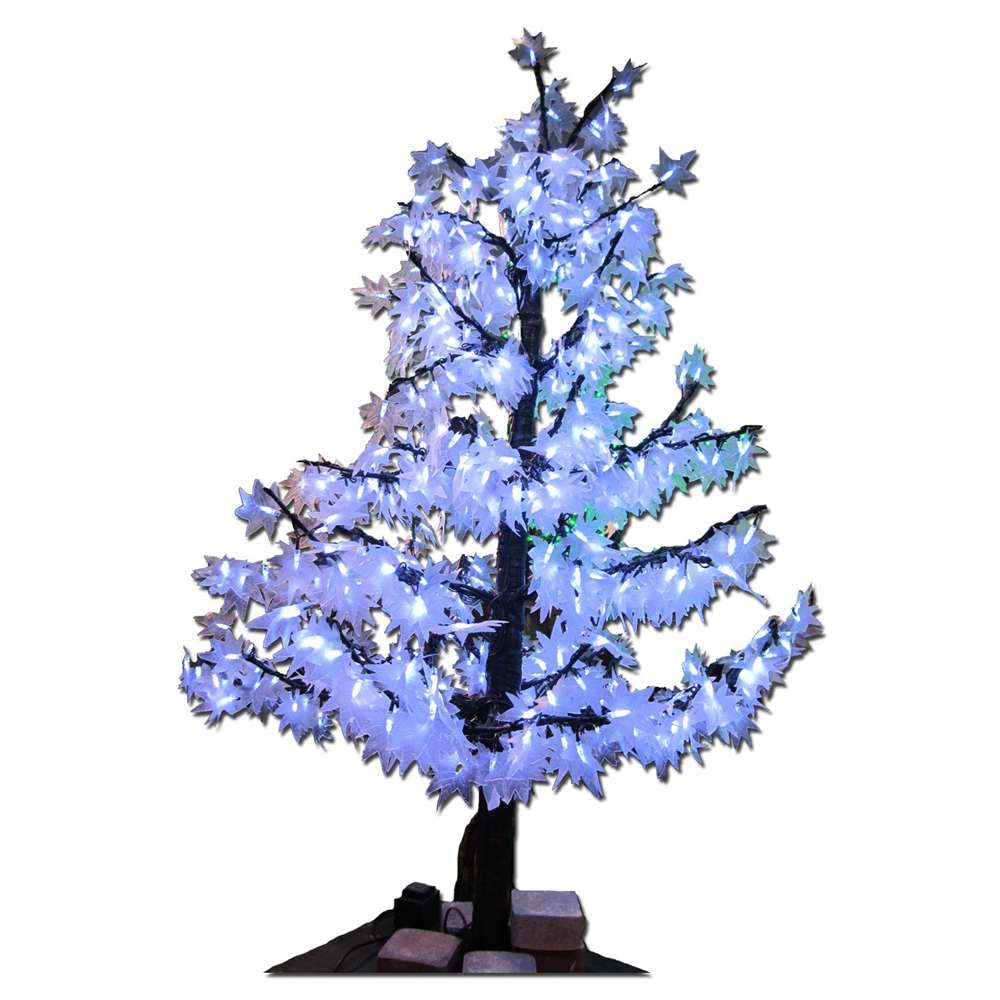 2015 wholesale christmas lights luces navidad dhl free shipping led maple tree light 15m 636leds led holiday light ac85265v in holiday lighting from