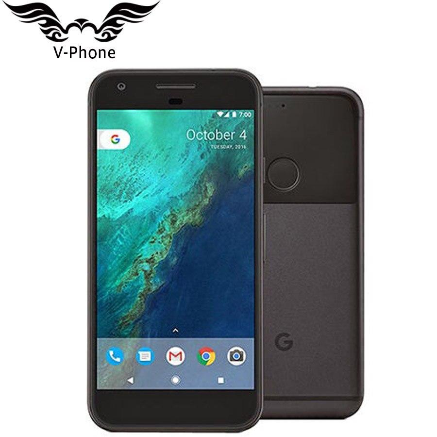 Оригинальный Новый США Версия Google Pixel мобильный телефон 5,0 ''четырехъядерный Snapdragon 4G LTE Android 4G B оперативная память 32 ГБ 128 ГБ Встроенная