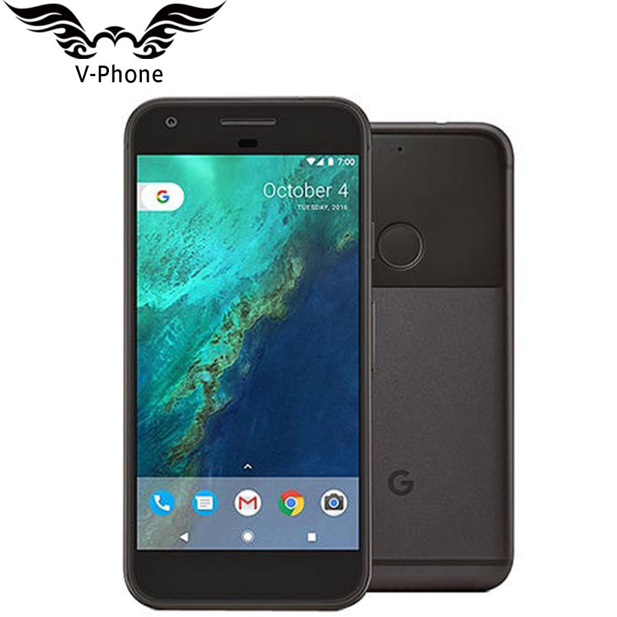 Оригинальный Новый США Версия Google Pixel мобильный телефон 5,0 ''четырехъядерный Snapdragon 4G LTE Android 4G B оперативная память 32 Гб 128 Встроенная