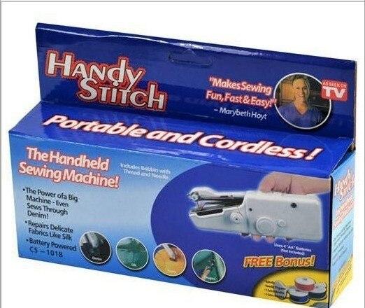 Portable couture manuel Mini de poche broderie Tissus main pièces pour machines À Coudre à tricoter Machine maquina de costura