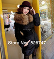 2017 autumn winter new New Hot Sell women High quality fashion thick warm slim with a belt simulation fur coat ,Cheap wholesale