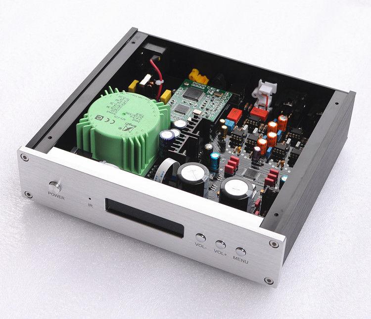 Готовые ES9038PRO DSD DAC/XLR Выход + пульт + amanero USB карты