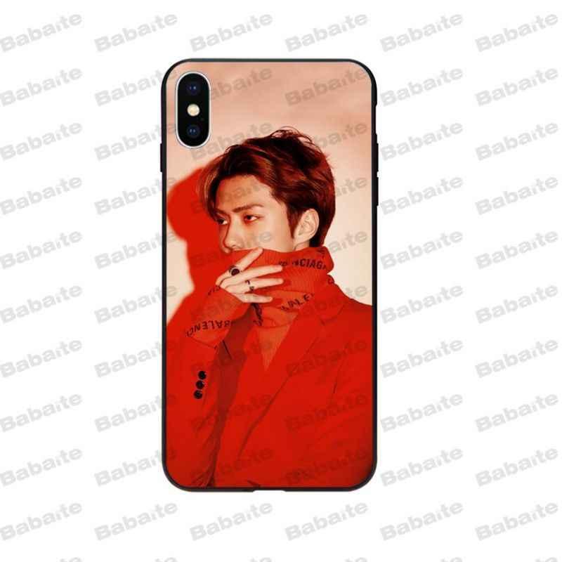 Babaite EXO sehun Coque популярный чехол для сотового телефона iPhone 6 6s 8 8 Plus 5 5S SE 7 7 plus XRX XS MAX shell