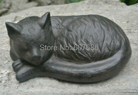 Cat Rural Cast Iron Animal Figurine